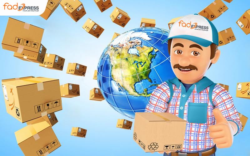 Bảng giá cước phí vận chuyển gửi hàng, chuyển phát nhanh quốc tế