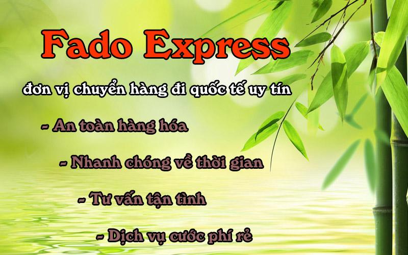 Fado Express dap ung day du các tieu chi nguoi dung dua ra