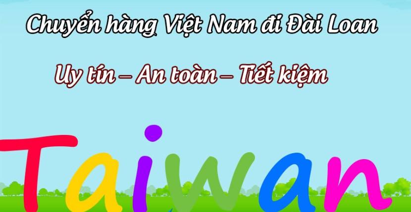 chuyen phat nhanh hang hoa viet nam di dai loan