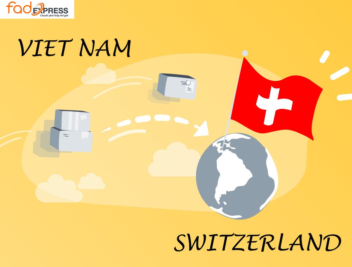 chuyển phát nhanh từ Việt Nam đi Thụy Sĩ