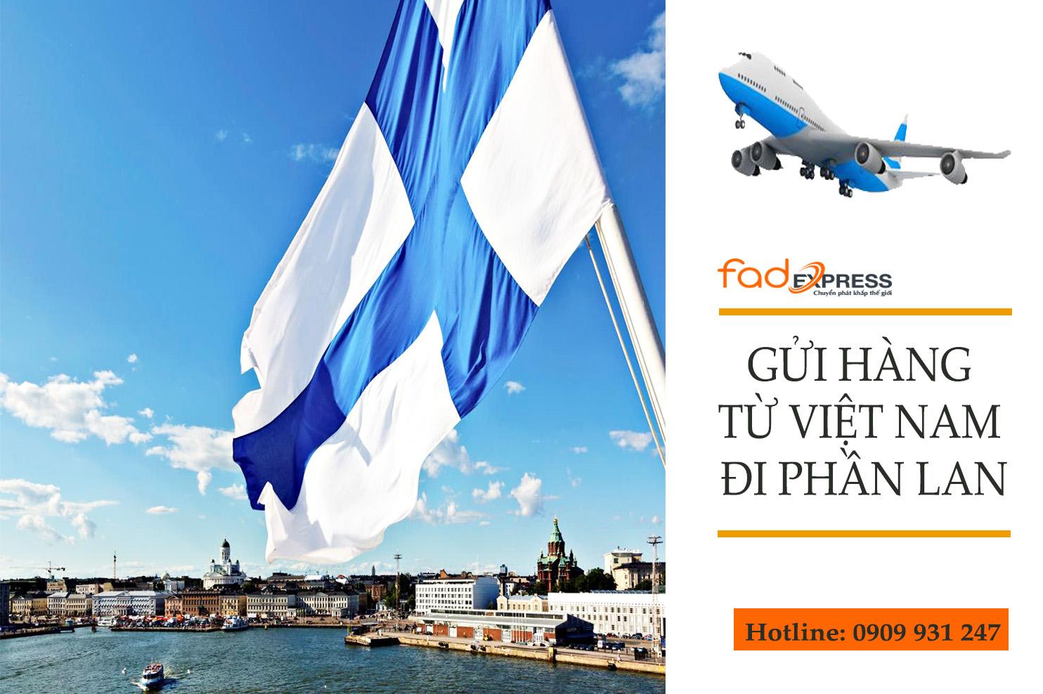 gửi hàng từ Việt Nam đi Phần Lan